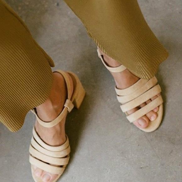 4d571a428781 NEW Maryam Nassir Zadeh Palma High Sandal Size 37