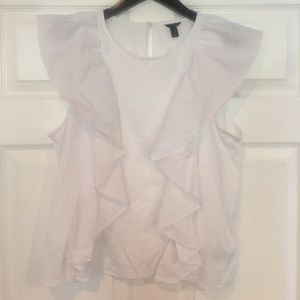 Jcrew Ruffle top