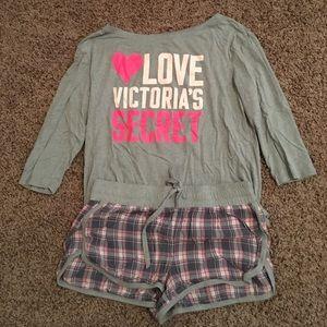 SALE Victoria's Secret Pajama Set