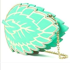 Kate Spade Plume Mint Leaf Crossbody Bag