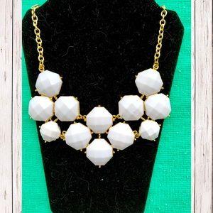 Jewelry - White Stone Bib Necklace