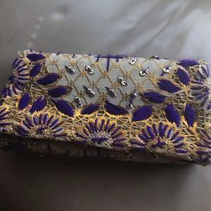 Handbags - NWOT one of a kind clutch
