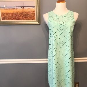 [J. Crew] Laser Cut Shift Dress