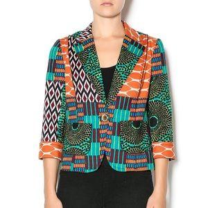 Batik Patchwork Blazer - Plenty by Tracy Reese