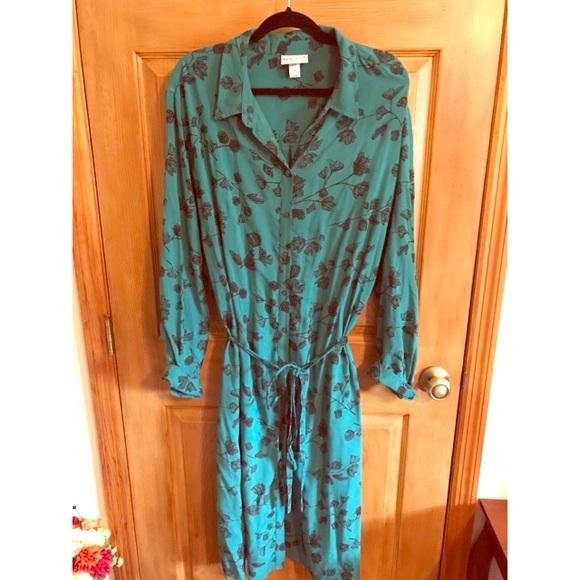 714287d5713 Ava   Viv Dresses   Skirts - Ava   Viv Long Sleeve Shirt Dress Plus Size