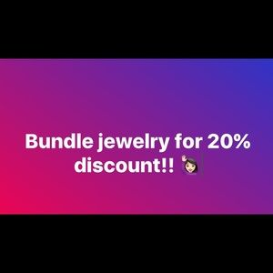 Other - Great very lightly used jewelry!! 20% discount!!
