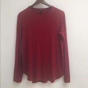 eileen fisher long sleeve tee size S