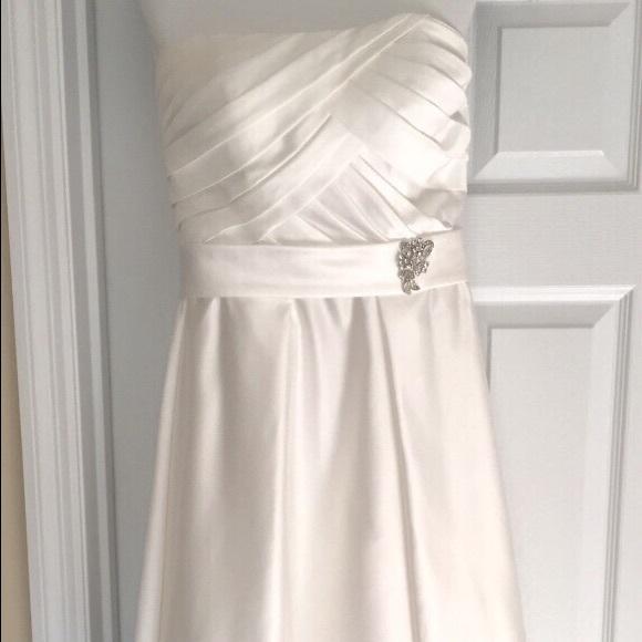 David\'s Bridal Dresses | Wedding Gown Bolero | Poshmark