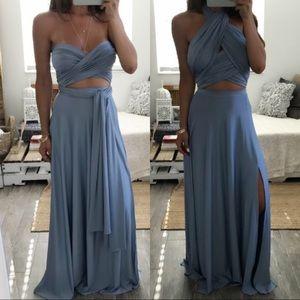 lulus multiway maxi dress