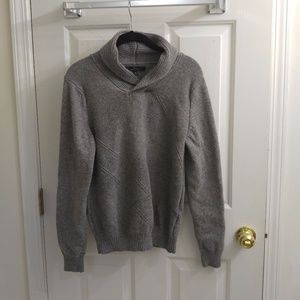 Marc Anthony Shawl Collar Grey Sweater - 8/18
