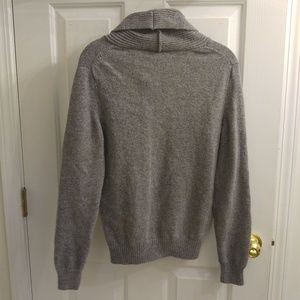 Marc Anthony Sweaters - Marc Anthony Shawl Collar Grey Sweater - 8/18