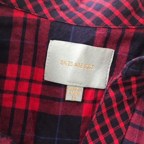 Skies Are Blue Tops - *Stitch Fix* 'Skies Are Blue' Flannel