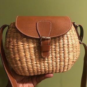 Handbags - New woven bag. No signs of wear. Smoke free home.