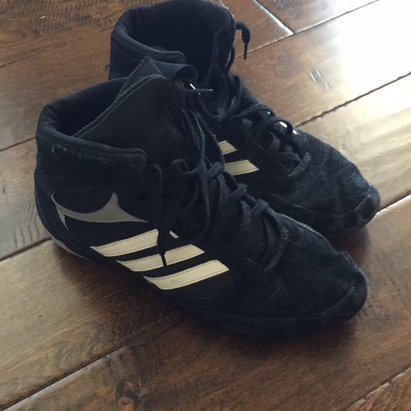 finest selection e3e0d 2d028 adidas Other - Adidas wrestling shoes sz 9 mens