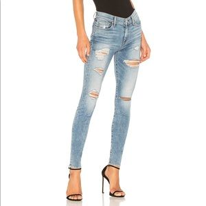 7 FOR ALL MANKIND the high waisted skinny