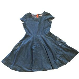 Mini Boden Chambray Dress