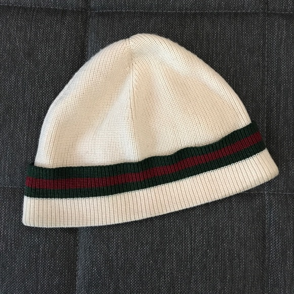 df95c813 Gucci Accessories | Mens Winter Hat Beanie White Size L | Poshmark