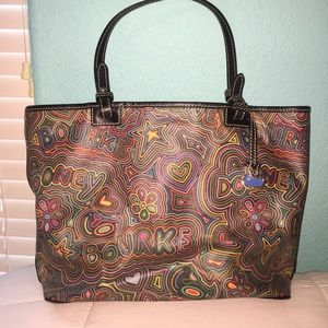 Handbags - Dooney & Bourke Colorful Tote Bag