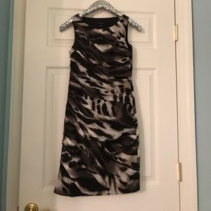 Ann Taylor animal print dress size 0