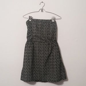 MUDD Black Flower Dress Short Romper