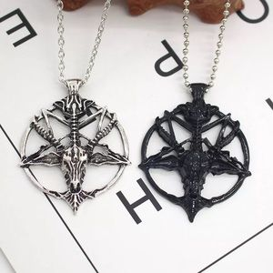 Jewelry - Baphomet Inverted Pentagram Necklace