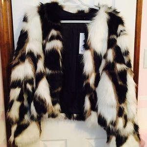 Jackets & Blazers - Nwt fur jacket medium