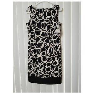 Alyx Sheath Dress Abstract Print