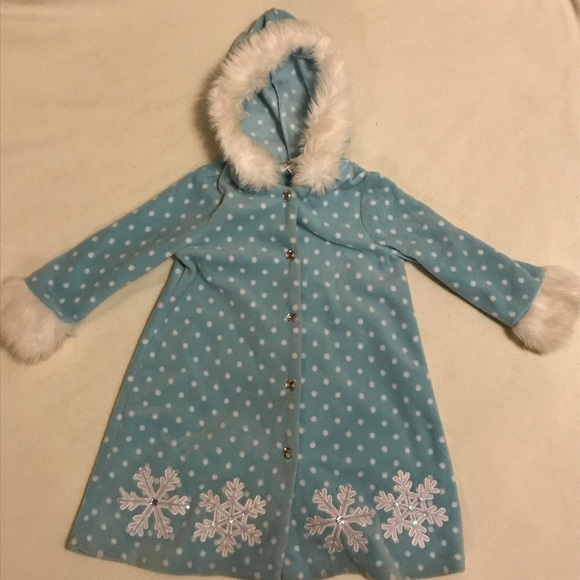 Bonnie Jean Other - Elsa inspired coat