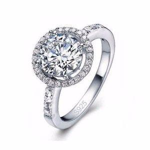 Jewelry - 925 Silver White Zircon Ring