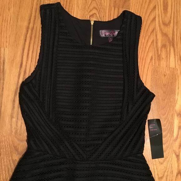Glam Doll Dresses - NWT Black Fit & Flare Dress