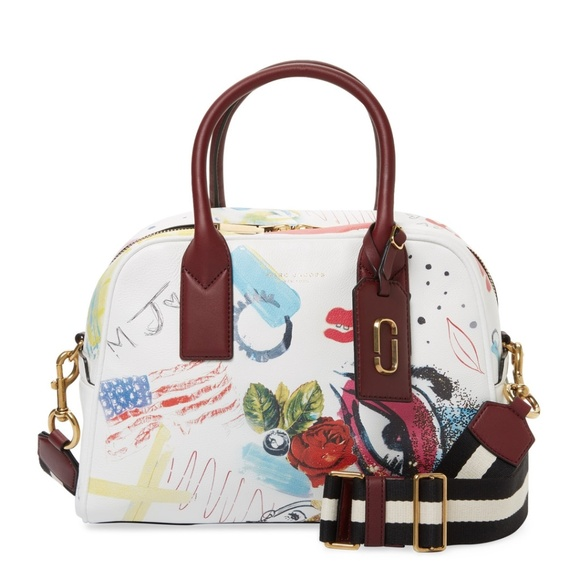 71ba8248c2da NEW MARC JACOBS COLLAGE PRINT BAULETTO SALE! M 599784ae9c6fcf15b103fa0f
