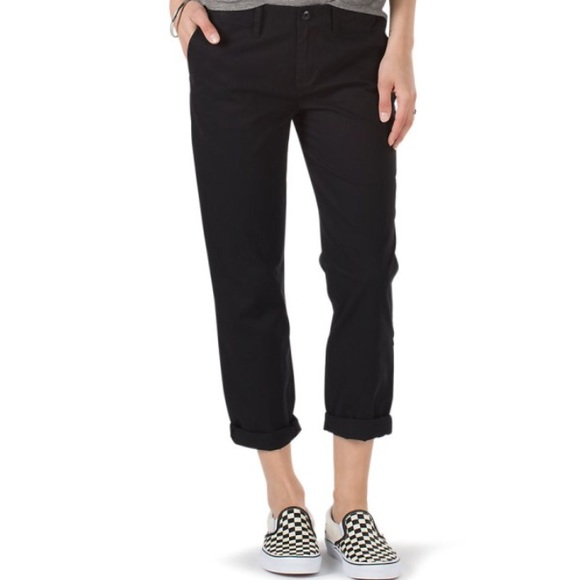 7b8715fbb24a NWT Vans Women s Black Pants