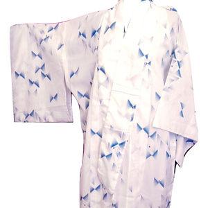Long Light Weight Summer Kimono Japanese Robe