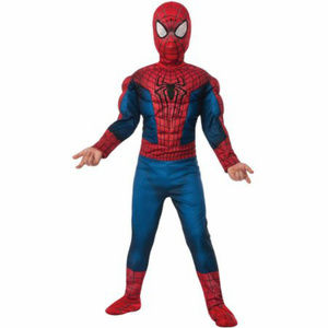 Boys Spider-Man Muscle Chest Jumpsuit New