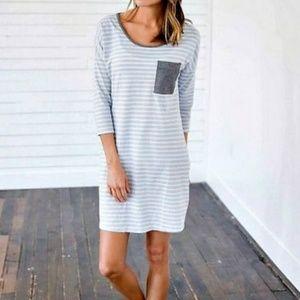 Dresses & Skirts - Blue Skies T shirt Dress