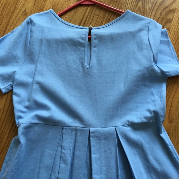 Flamingo Urban Dresses - NEW Blue Pleated Dress