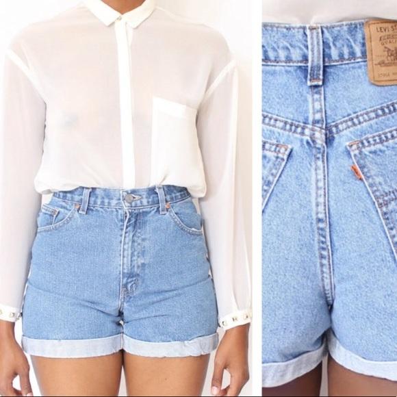 bc8b4ffa Levi's Shorts | Levis Vintage 954 High Waisted Mom | Poshmark