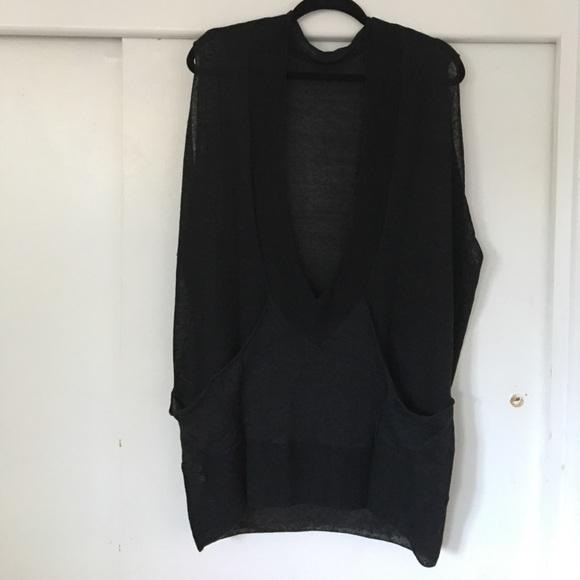 91% off VPL Sweaters - VPL oversized sleeveless sweater from ...
