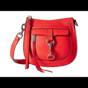 Handbags - NWT Rebecca Minkoff Dog Clip Saddle Handbag