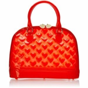 LUV-BETSEY Betsey Johnson Jelly Dome Satchel
