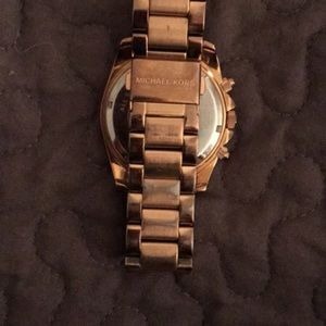 Blair rose gold tone stainless steel Michael kors