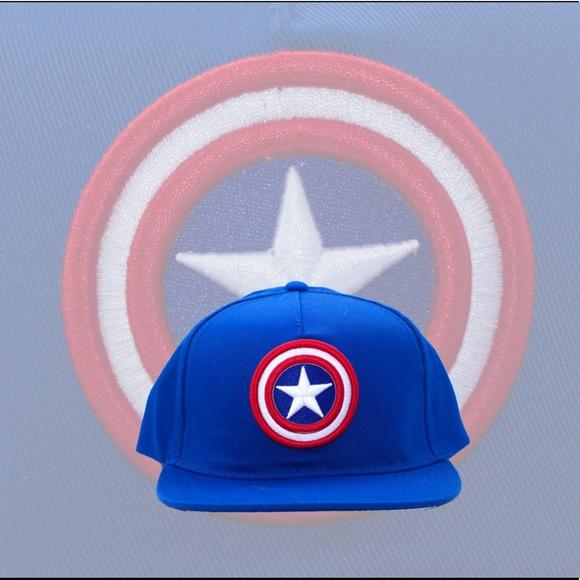 Captain America Unisex Baseball Cap. NWT. Marvel 4b3c9fb13fd0