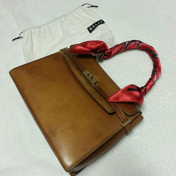 ef352a681a8f Bally Handbags - Authentic Vintage leather Bally kelly style