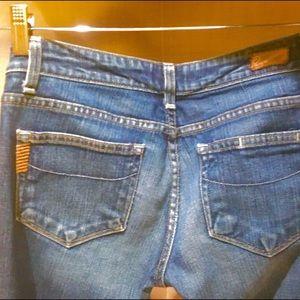 afe68b97943 Jeans | Paige Manhattan Boot Bali | Poshmark
