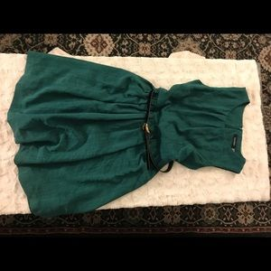 Emerald A-Line with Belt