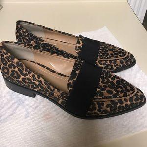 f180de927dc BCBGeneration Shoes - Bcbgeneration Jo Leopard Print Loafer Pointed Toe