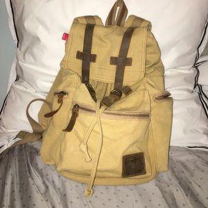 Handbags - Tan Augur backpack