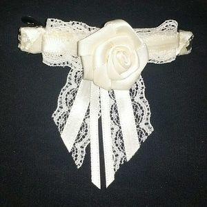 Victorian Ivory barrette