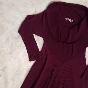 Dresses & Skirts - Purple Sweater dress