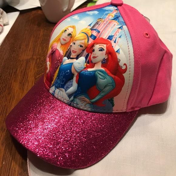 859317c6c Disney Princesses Girls 3-D baseball cap Boutique